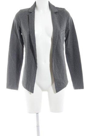 American Vintage Sweatblazer grau meliert Casual-Look