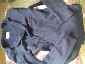 American Vintage Blazer de tela de sudadera azul oscuro-azul