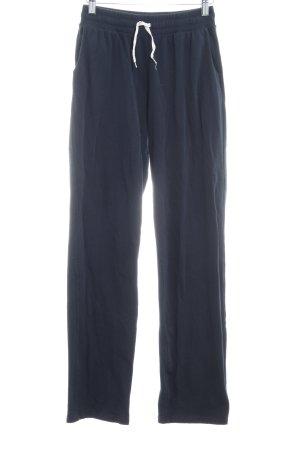 American Vintage Sweat Pants dark blue casual look