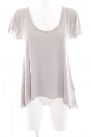 American Vintage T-Shirt lilac-natural white casual look