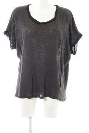 American Vintage T-Shirt black flecked casual look