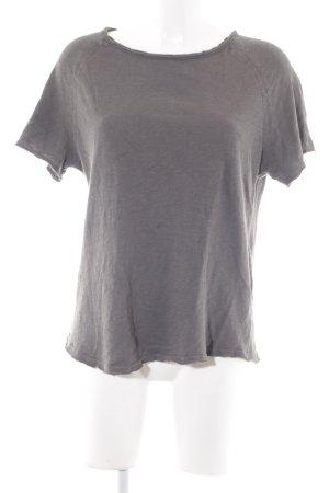 American Vintage T-Shirt graubraun Casual-Look