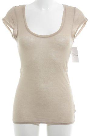 American Vintage T-Shirt hellbraun Casual-Look