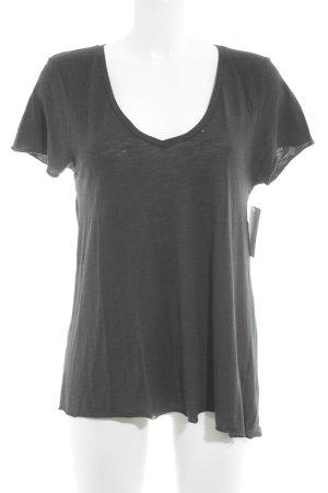 American Vintage T-Shirt schwarz Casual-Look