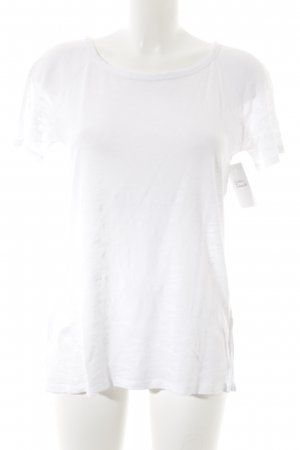 American Vintage Camiseta blanco look casual
