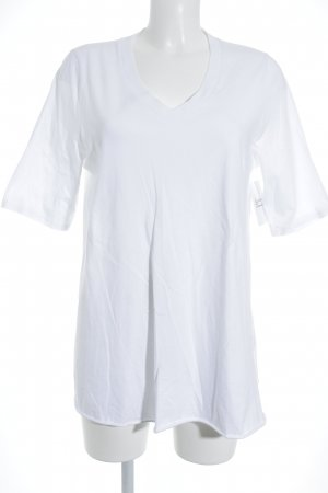 American Vintage T-shirt wit simpele stijl