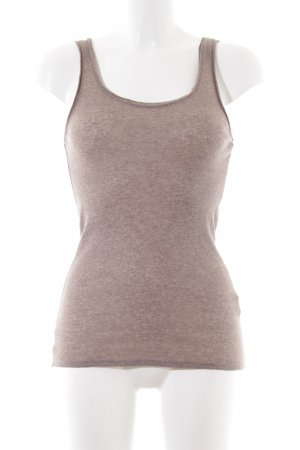 American Vintage Tank Top bronze-colored flecked casual look