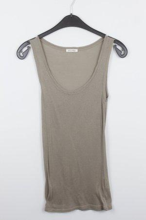 American Vintage Camiseta sin mangas marrón grisáceo Algodón