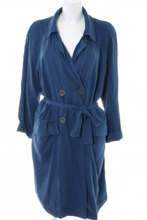 American Vintage Trench Coat blue casual look