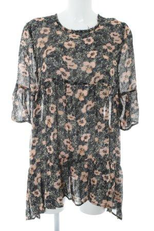 American Vintage Tunikakleid Blumenmuster Casual-Look