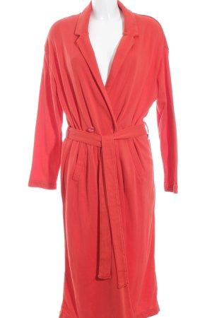 American Vintage Abrigo de entretiempo rojo look casual