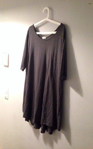 AMERICAN VINTAGE weites Oversize Kleid grau locker lässig M L 38 40 42