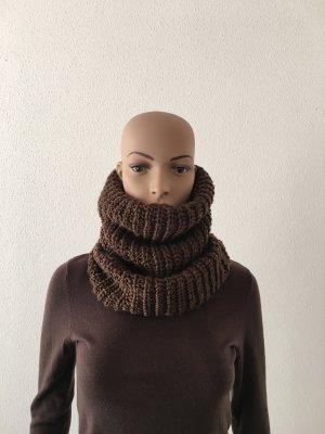 American Vintage Bufanda de lana color bronce-ocre