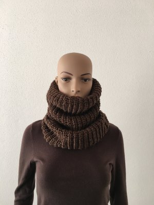 American Vintage Woolen Scarf bronze-colored-ocher