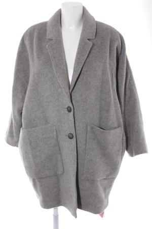 American Vintage Wolljacke grau Casual-Look