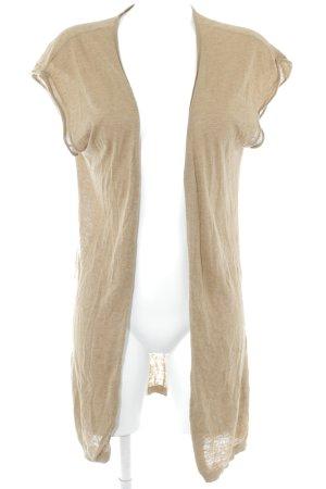 American Vintage Chaqueta de lana marrón claro look casual