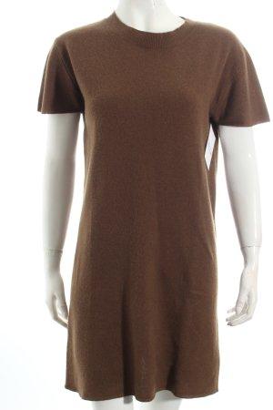 American Vintage Wollkleid khaki minimalistischer Stil