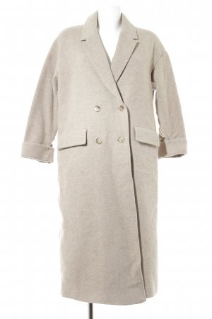 American Vintage Cappotto in lana beige stile casual