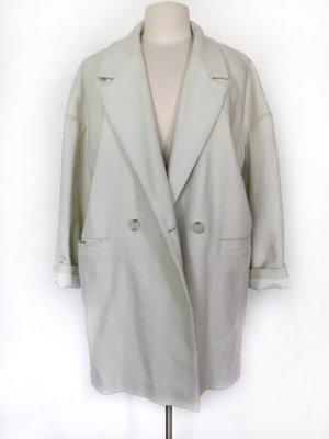 American Vintage Wollen jas licht beige