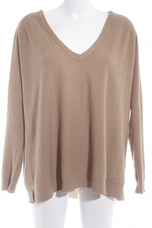 American Vintage Wollpullover camel Casual-Look