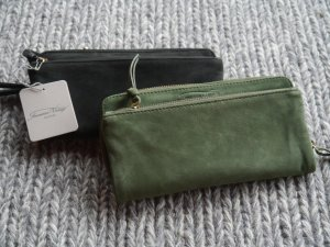 American Vintage Ziegenleder Brieftasche Andrew