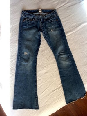 True Religion Denim Flares blue cotton