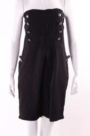 Amisu Bustierkleid schwarz