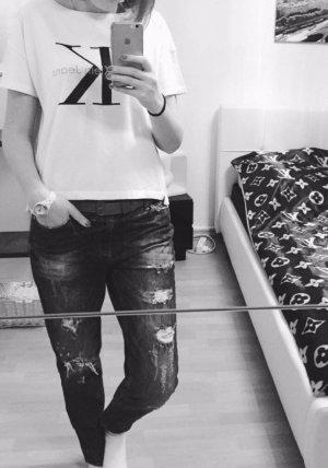 Amisu Damen Jeans mit den Löchern in gr.28 Einmal angezogen
