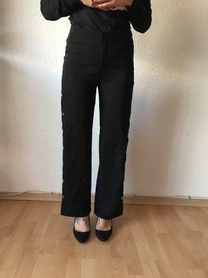 Amisu Pantalón anchos negro