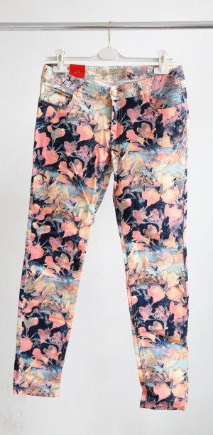 Amisu Jeans Floral-printed bunt