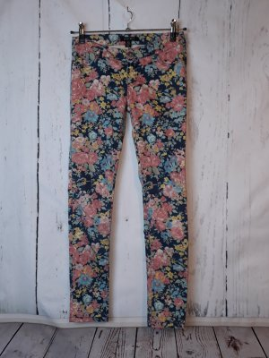 Amisu Jeans - Gr. 36 - Flower Look