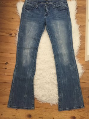 Amisu Jeans in heller Waschung