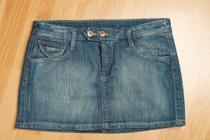 AMISU Jeans Rock Gr 38 passt einer S/M