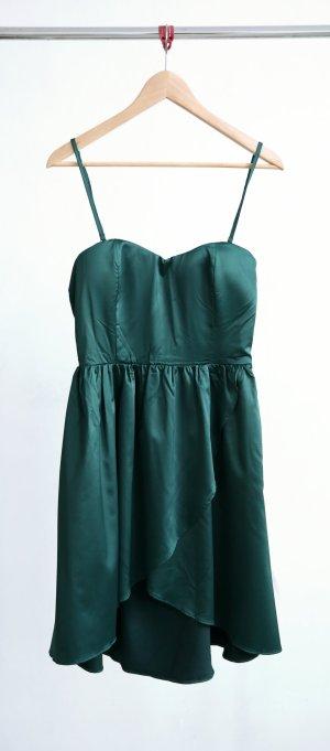Amisu Kleid petrol/dunkelgrün