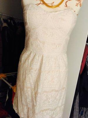 Amisu Kleidchen mit Spitze