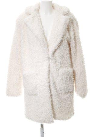 Amisu Fake Fur Coat natural white casual look
