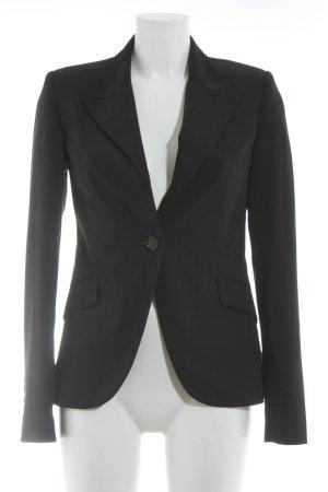 Amisu Kurz-Blazer schwarz Business-Look