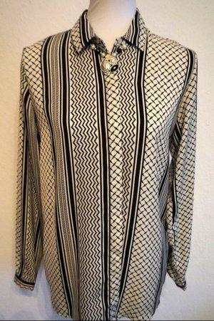 Amisu Colletto camicia nero-bianco