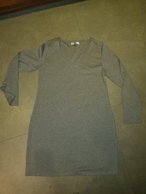 Amisu Vestido de manga larga gris