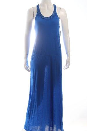 Amisu Maxikleid blau