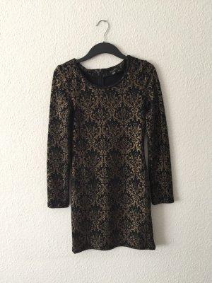 Amisu Ornamente Kleider schwarz 38