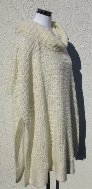 Amisu Poncho natural white