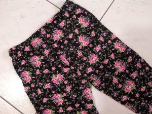 AMISU:schicke Leggings/Hose/Blumenmuster, sehr dehnbar und angenehm-Gr.34-38
