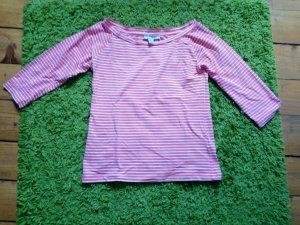 Amisu Shirt zalm-wit