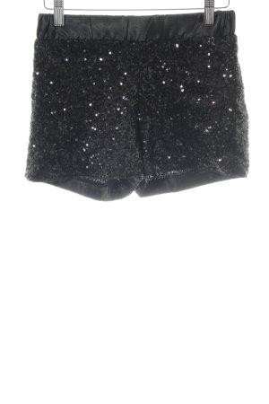 Amisu Shorts negro estilo fiesta