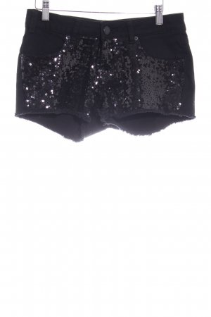 Amisu Shorts schwarz Party-Look