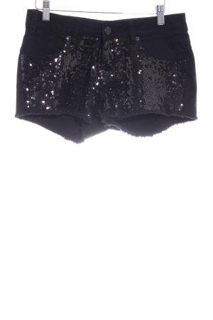 Amisu Shorts nero stile festa