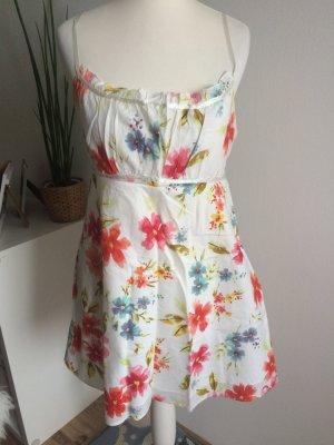 Amisu Sommer Kleid 40 L neu Blumen geblümt