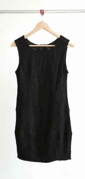 Amisu Spitzenkleid -schwarz