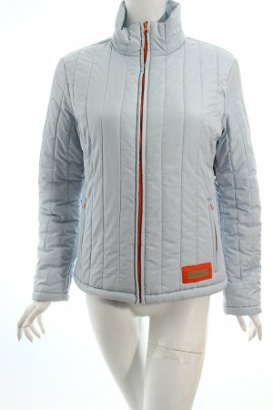 Amisu Steppjacke himmelblau-orange Casual-Look